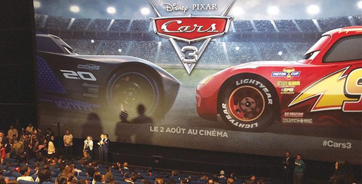 «Cars 3» projeté en avant-première  à l'Imax du Morocco Mall