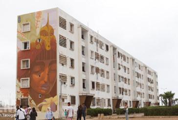Street art :  Casablanca prend des couleurs