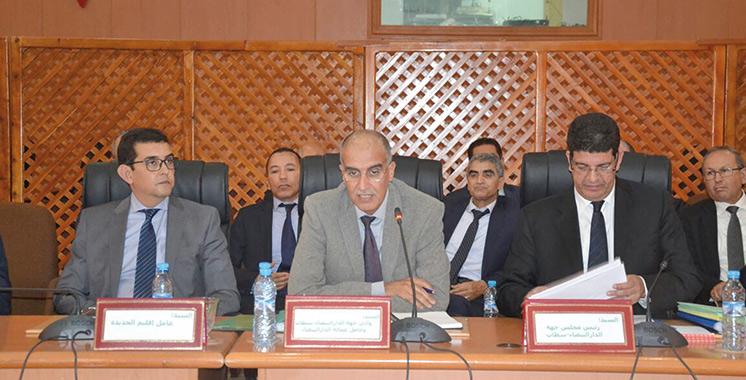 Casablanca-Settat: Adoption de 9 projets visant le développement de la région et ses infrastructures