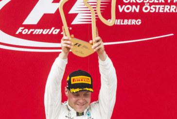 Formule 1: Victoire du Finlandais Valtteri Bottas au GP d'Autriche