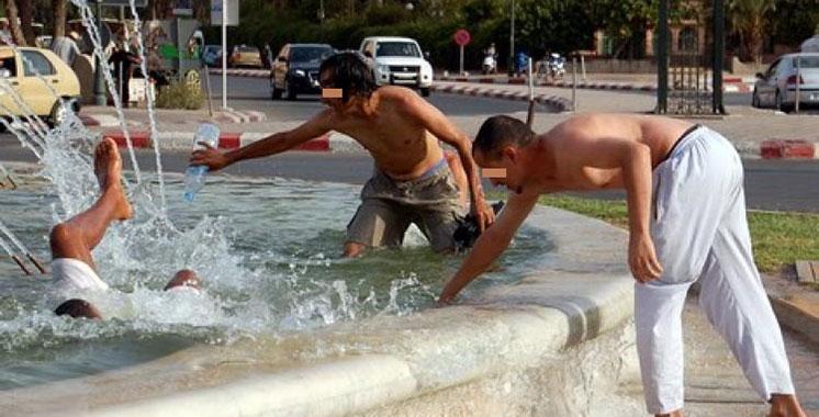 Hausse vertigineuse des températures à Marrakech : ce qu'en pensent les habitants