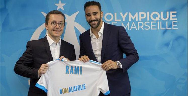 Transfert : Adil Rami signe un contrat de quatre ans à Marseille