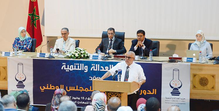 PJD :  El Othmani appelle à l'unité et  la cohésion