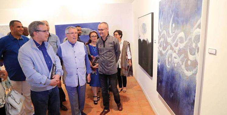 L'exposition se poursuit jusqu'au 25 juillet à la galerie du Centre Hassan II des rencontres internationales