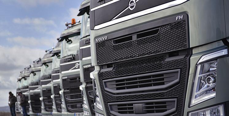 Poids lourds: Volvo triple ses bénéfices