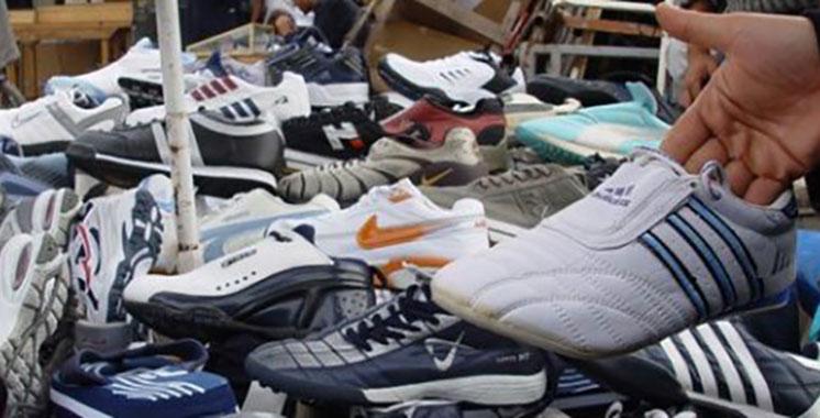 Casablanca : Saisie de 14.000 paires d'espadrilles contrefaites en provenance de Chine
