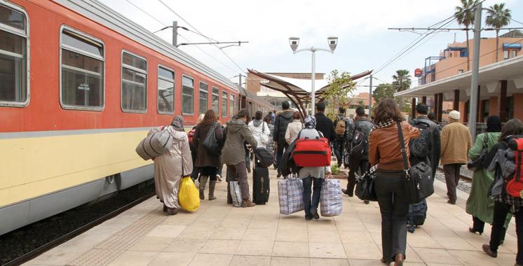 Double voie ferrée Settat-Marrakech: L'ONCF table sur 6 millions de voyageurs à l'horizon 2020