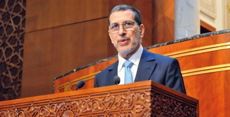 Saâd Eddine  El Othmani devant les conseillers  ce mardi