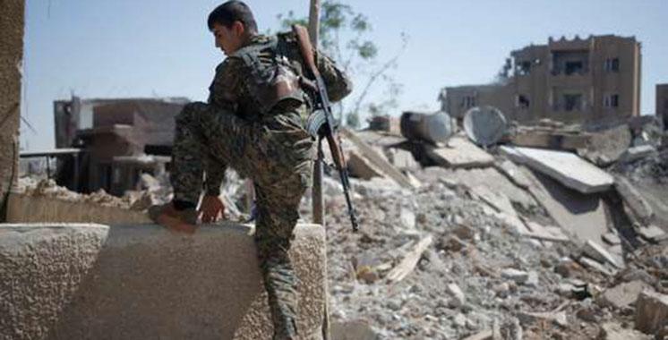 Les forces syriennes poursuivent leur percée dans l'est de Rakka