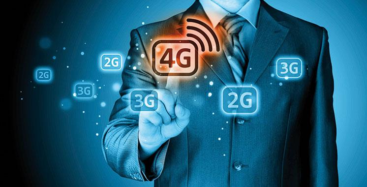 Internet mobile : 18 millions d'abonnés dont 4,7 millions en 4G