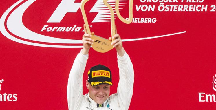 Formule 1 Victoire du Finlandais Valtteri Bottas au GP d'Autriche