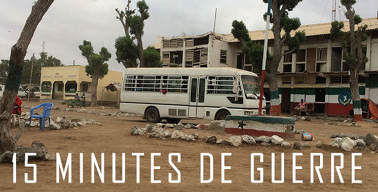 «15 Minutes de guerre» de Fred Grivois  en plein tournage au Maroc
