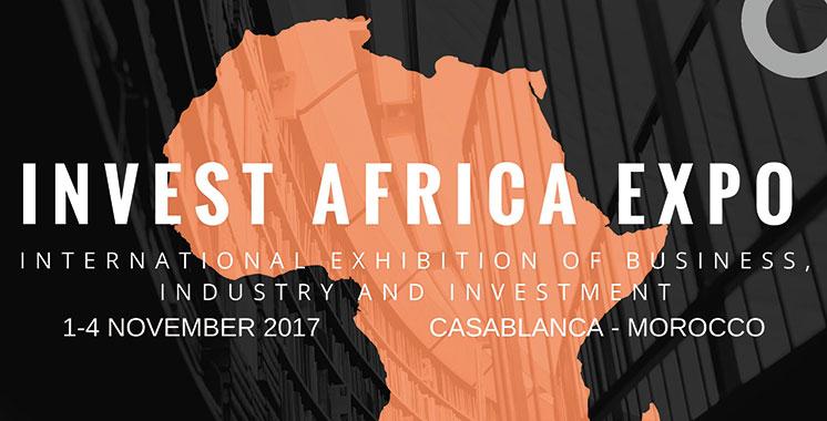 Le premier Salon international «Invest Africa Expo» en novembre au Maroc
