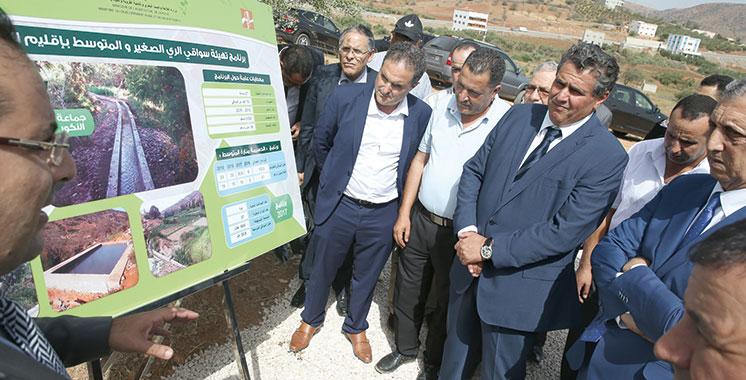 Al-Hoceima : Les projets agricoles s'activent