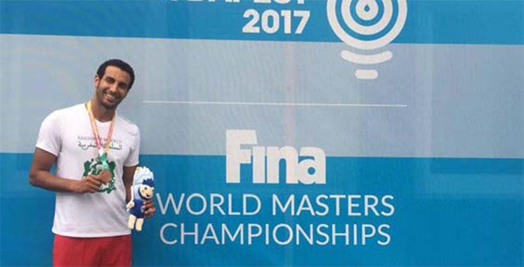 Championnats du monde de natation masters : Amine Kouame décroche le bronze
