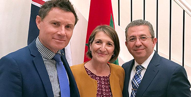 Le groupe d'amitié parlementaire Australie-Maroc voit le jour