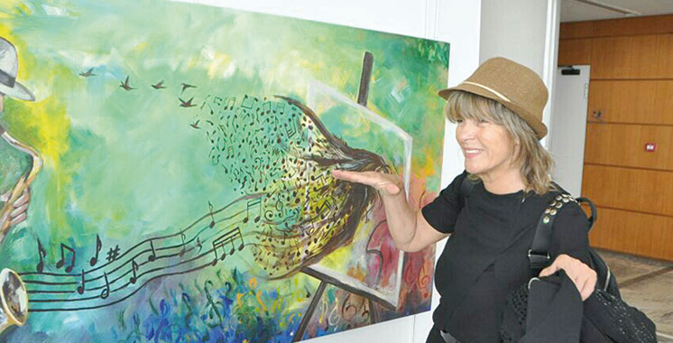 «Le marché  de l'art doit devenir celui de la reconnaissance des talents de l'artiste»