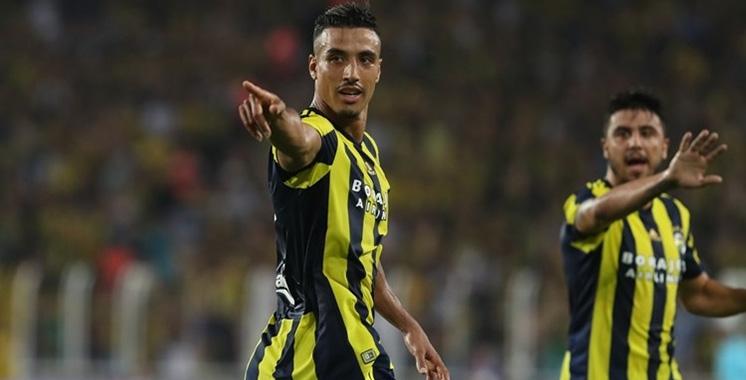 Lions de l'Atlas : Nabil Dirar inscrit son 1-er but avec le Fenerbahçe