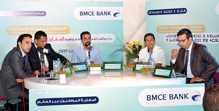 Les MRE investisseurs d'Agadir à la découverte des solutions de la BMCE Bank