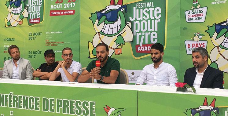 Juste pour Rire : Les meilleurs humoristes de six pays se produisent à Agadir