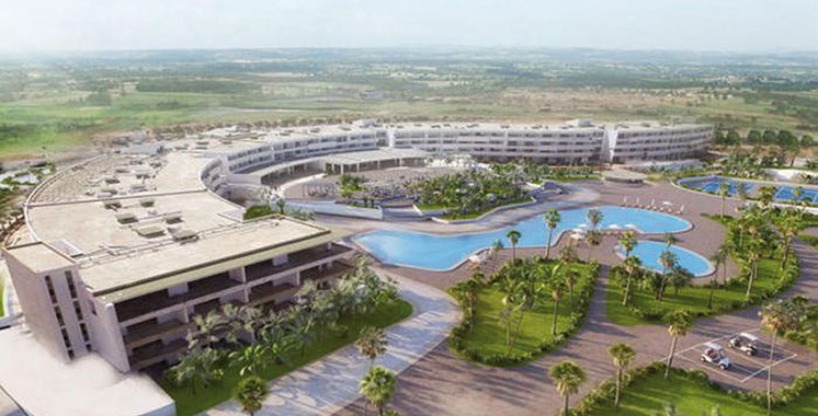 Larache : L'infrastructure touristique se renforce  par l'inauguration du Lixus Beach Resort