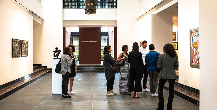 «E-Mois», exposition au Musée d'art contemporain africain à Marrakech