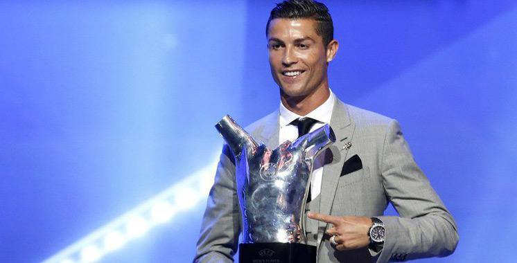 Football : Sans surprise, Ronaldo élu joueur UEFA