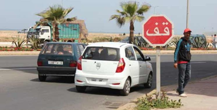 Etude du CNPAC : Seulement 48% des automobilistes s'arrêtent au Stop !