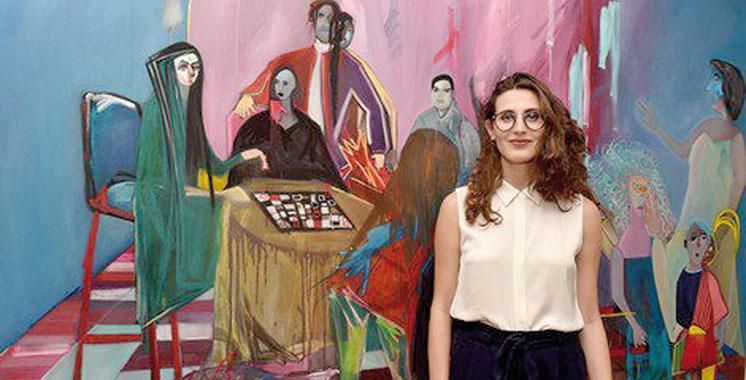 Les créations de Yasmine Hadni à la galerie de la Banque Populaire