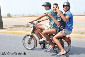 Les deux-roues sont-ils destinés à trois passagers ?