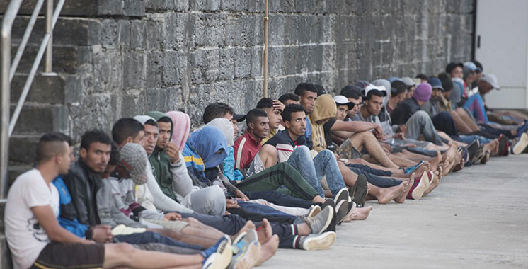 Sebta : 30 migrants découverts  dans des manèges