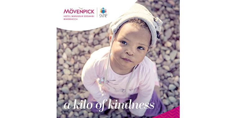 Mövenpick Mansour Eddahbi  Marrakech lance une opération  de collecte de dons