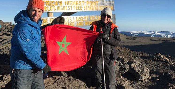 Siham Bensari, l'alpiniste marocaine non voyante au sommet de l'Afrique
