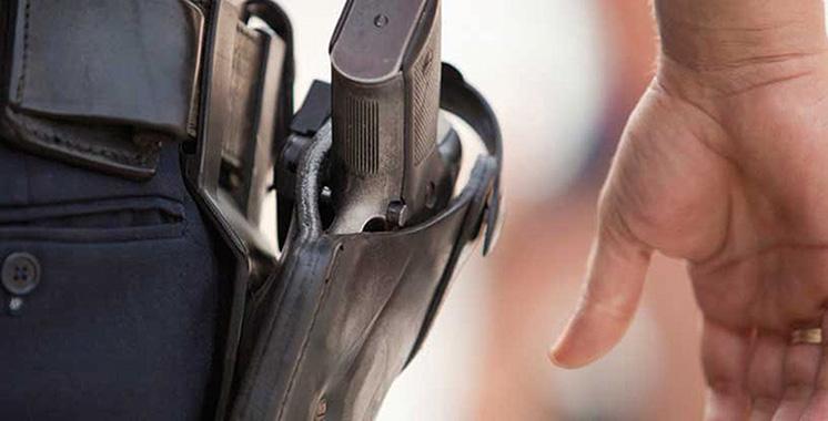 Berkane : Un inspecteur de police use de son arme de service pour appréhender trois criminels