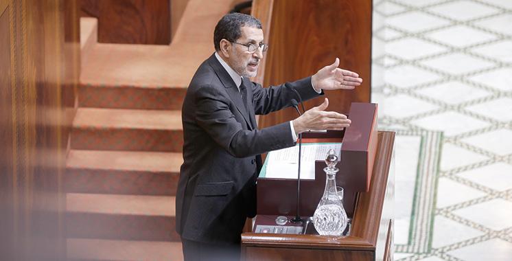 Les nouvelles urgences d'El Othmani — Conseil de gouvernement