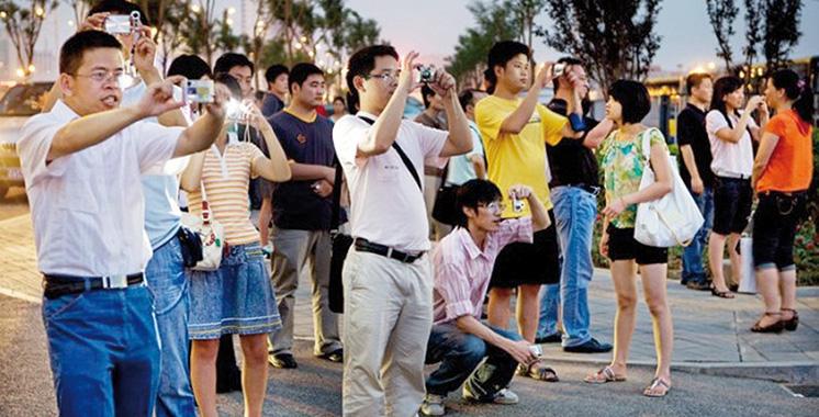 546%, les arrivées de touristes chinois explosent