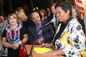 Casablanca : présentation de la nouvelle consule générale des Etats-Unis Jennifer Rasamimanana