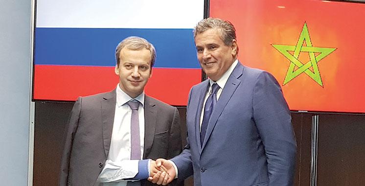 Akhannouch évoque avec le vice-Premier ministre russe les moyens de booster la coopération bilatérale