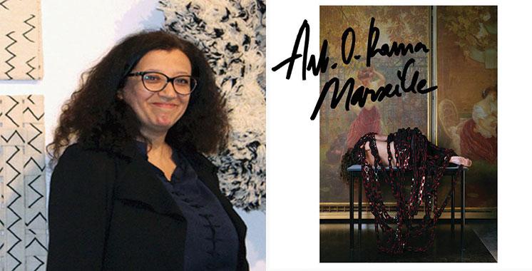 Amina Agueznay rend hommage au couturier Azzedine Alaïa