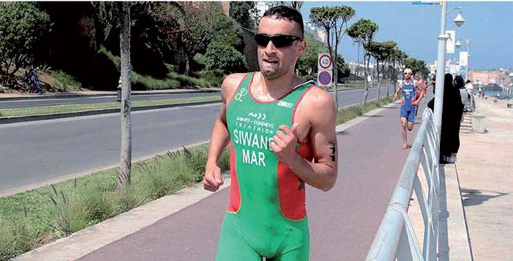 Triathlon : Badr Siwane, 1er Africain et 42e mondial