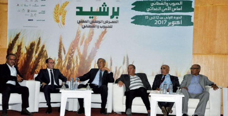 Les céréales et légumineuses ont désormais leur salon: Un budget de 4 millions de dirhams lui a été consacré