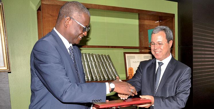 La CDG signe un partenariat  avec la Caisse des dépôts et de  développement de la Mauritanie