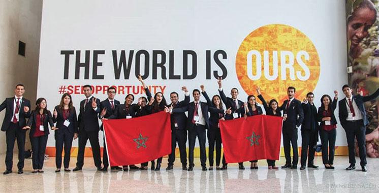 Entrepreneuriat social Enactus EHTP candidate  à la Enactus World Cup