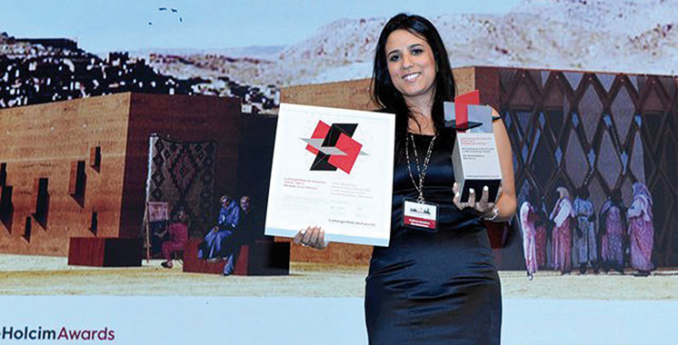 «LafargeHolcim Awards 2017» : Le projet d'un centre de formation dans le village d'Aït Benhaddou remporte le Prix d'argent