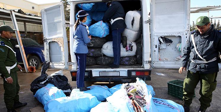 Fès: Saisie de marchandises de contrebande d'une valeur de plus de 3,5 MDH
