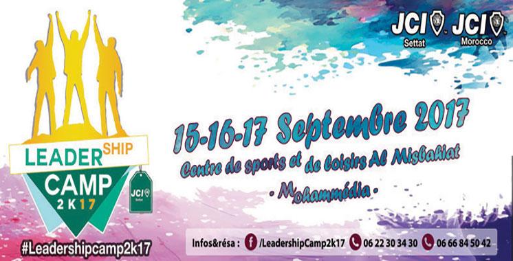 La JCI du Maroc organise la 3ème édition du «Leadership Camp»