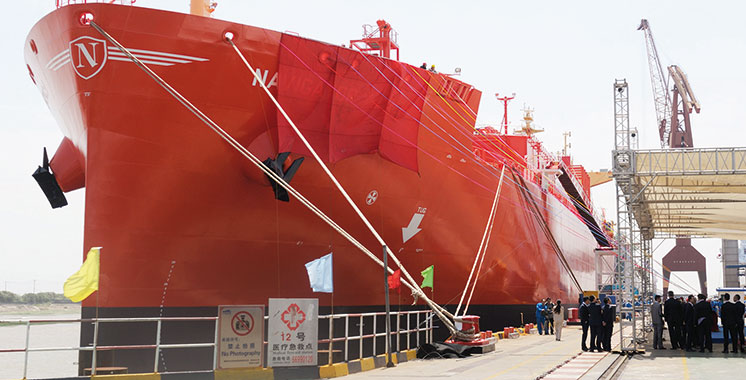 OCP reçoit le navire gazier «Navigator Jorf»