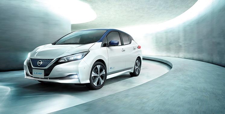 Nissan dévoile la nouvelle Leaf