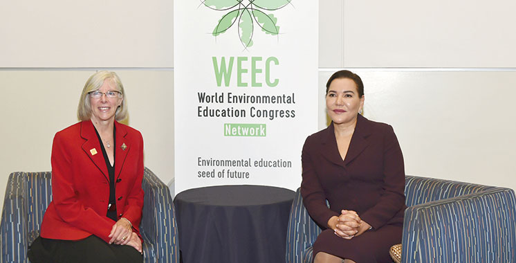 SAR la Princesse Lalla Hasnaa au 9e Congrès mondial de l'éducation à l'environnement