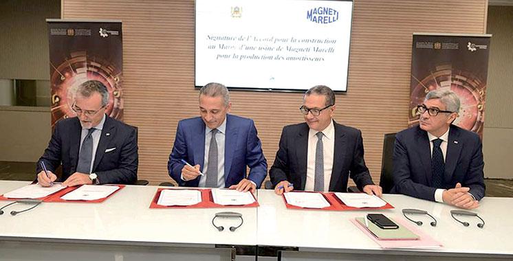 Composants automobiles : Une usine spécialisée s'implante à Tanger